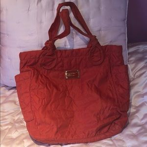 Marc by Marc Jacobs large red tote